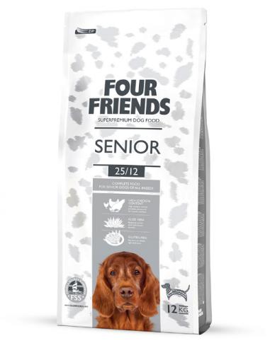 FourFriends Senior 17kg - Hundfoder