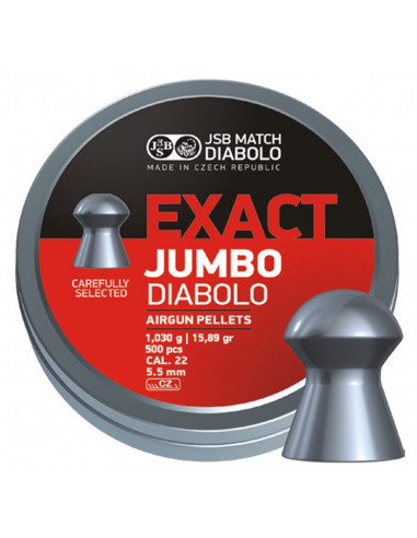 JSB Exact Jumbo, 5,52mm - 1,030g...