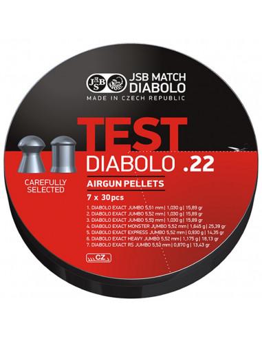 JSB Exact, Testpack 5,51, 5,52,...