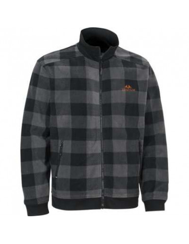 Swedteam Lynx M Sweater Full-Zip - Grå