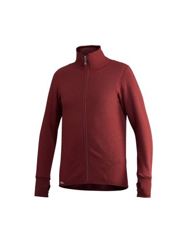 Woolpower Full Zip Jacket 400 - Rust Red