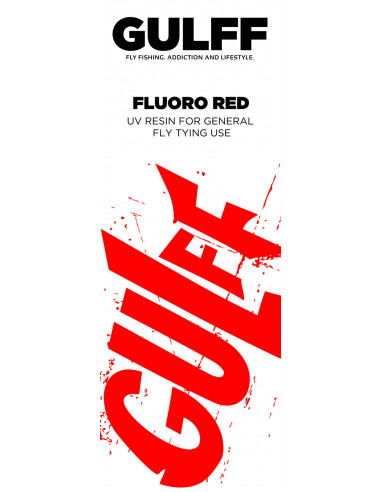 Gulff Fluorescent Red 15ml
