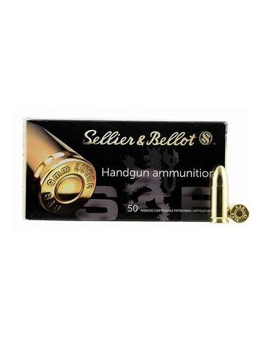 S&B Luger 9mm 124 FMJ 50-pack (V310492)
